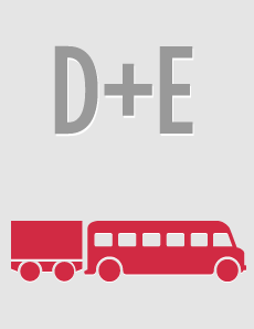 Sacarse el carnet de autobús en Madrid D+E