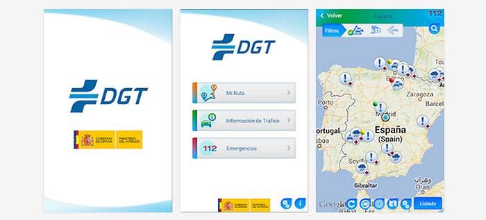 Apps conducción DGT APP