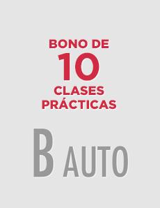 Bono 10 clases prácticas B-AUTO