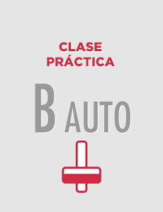 Clase práctica individual Permiso B-AUTO